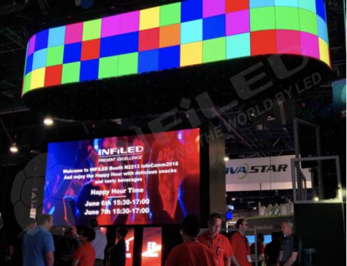 LED-screen valmistaja INFiLED lanseerasi uusia tuotteita InfoCommissa