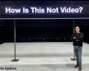 Christofer W Fogelberg ja Backa Teaterin infiLED videoseinä
