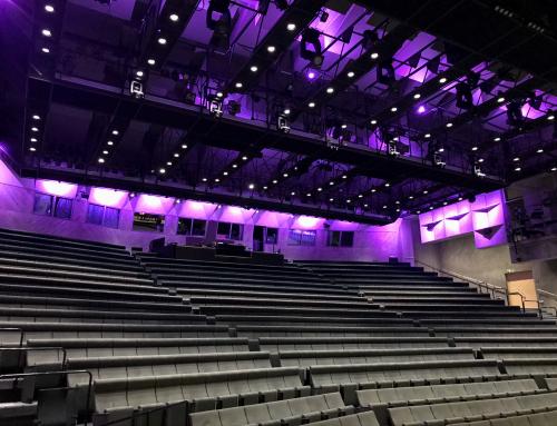 Lahden kaupunginteatterille uudet salivalot – lähes 200 uutta LED-valoa