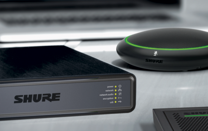 Shure Conferencing Audio Ecosystem
