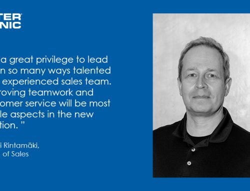 Antti Rintamäki as Head of Sales at Intersonic Oy