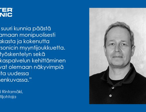 Antti Rintamäestä Intersonic Oy:n myyntijohtaja