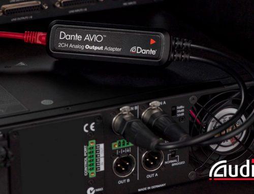Uusimmat Audinate AVIO Dante-sovittimet heti saatavilla