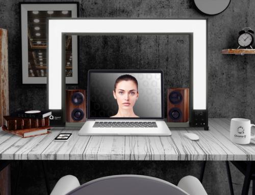 Chroma-Q Sandi tarjoaa laadukasta valaisua videoneuvotteluihin